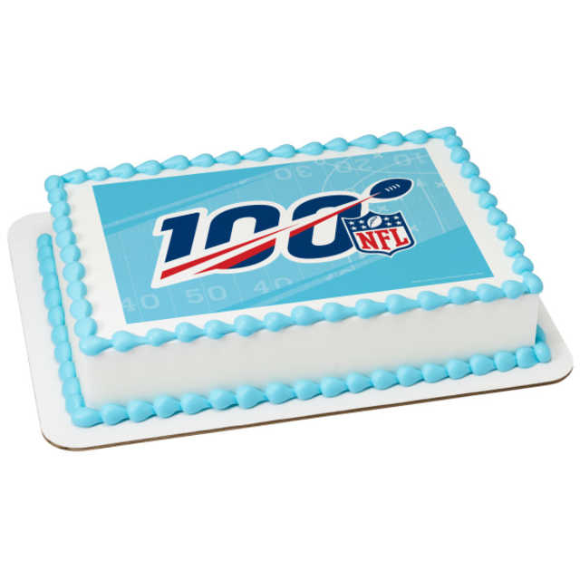 NFL 100th PhotoCake® Edible Image®