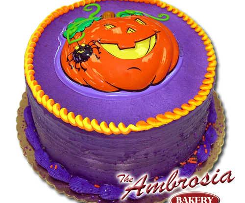 Pumpkin Pop Top Cake