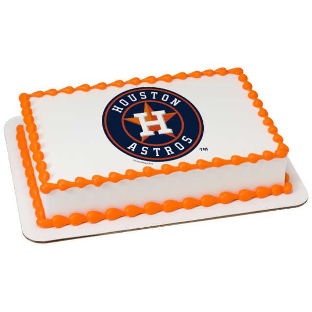 MLB® Major League Baseball Team Logo - PhotoCake® Edible Image® Cake