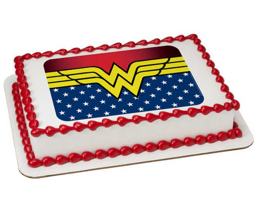 Wonder Woman-Freedom PhotoCake® Image