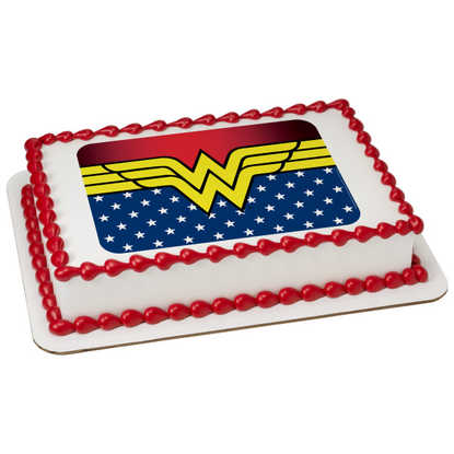 Wonder Woman-Freedom PhotoCake® Image