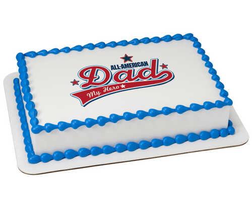 All-American Dad PhotoCake® Edible Image®