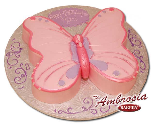 Cut-Out Fondant Butterfly