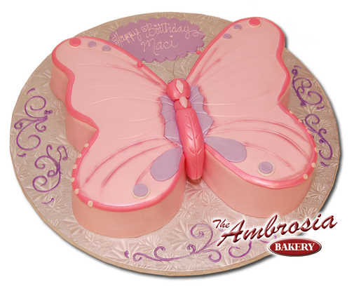 Cut-Out Fondant Butterfly
