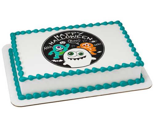 Doodle Monster PhotoCake® Edible Image®