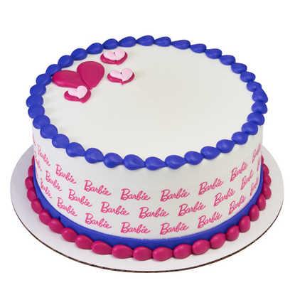 Barbie-Logo PhotoCake® Image Strips
