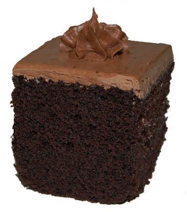 Cake Squares - Chocolate Cake