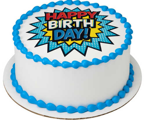 Birthday Comic Image®
