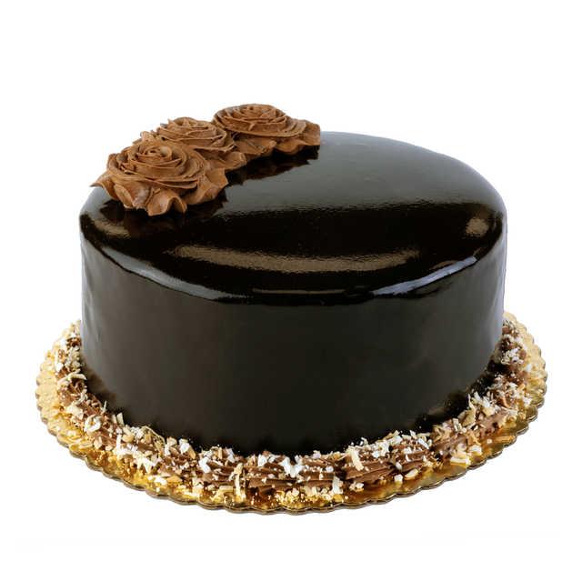 NEW! Chocolate Coconut Doberge Cake