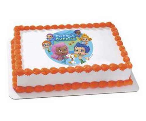 Bubble Guppies - Gil and Molly Edible Image®