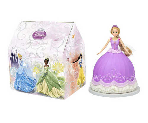Disney Princess Doll Cake - Rapunzel