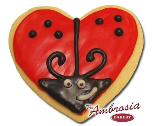 Love Bug Cut-Out Cookie
