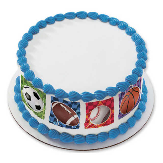 All Star PhotoCake® Image Strips Cake