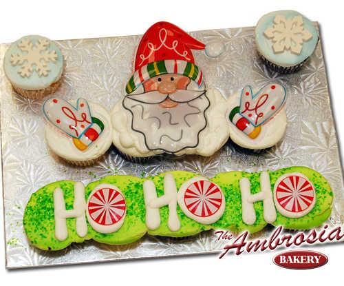 Ho Ho Ho! (Dozen Cupcakes)