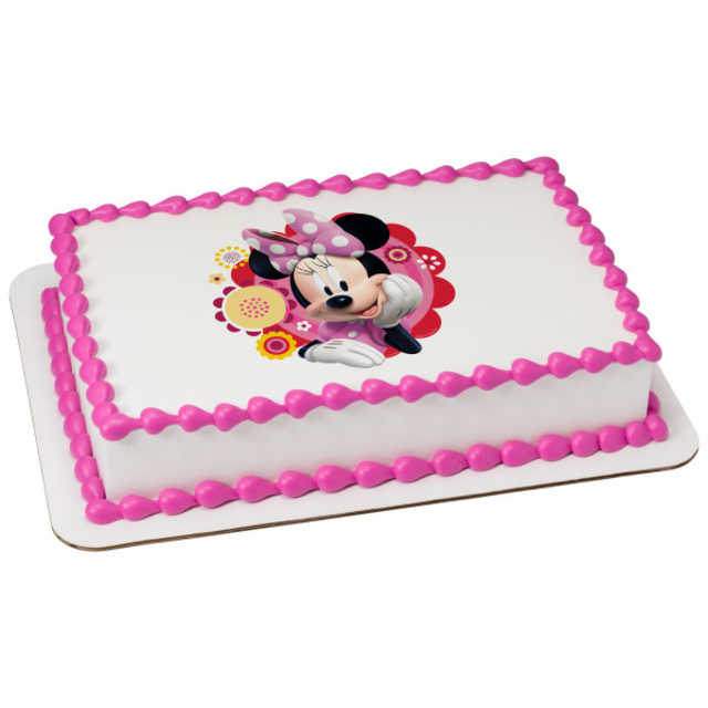 Disney - Minnie & Friends Dots & Daisies PhotoCake®