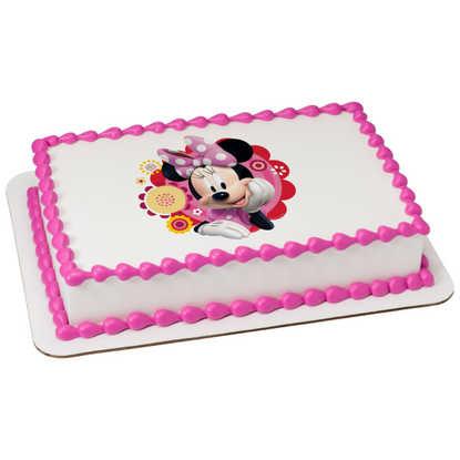Disney - Minnie & Friends Dots & Daisies PhotoCake®