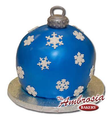 Fondant Christmas Ornament