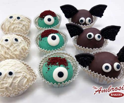 Dozen of Halloween Monster Cake Balls