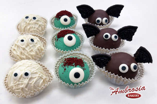 Dozen of Halloween Monster Cake Balls