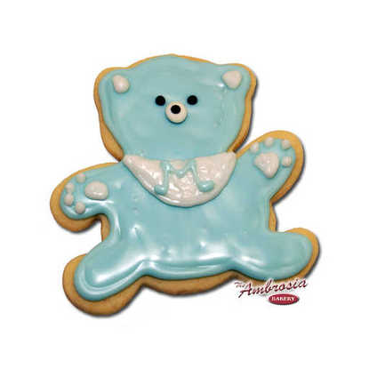Teddy Bear Cut-Out Cookie