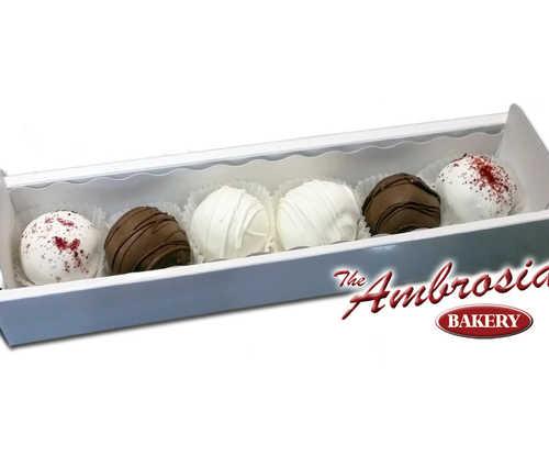 Variety Cake Balls - Gift Box of 6