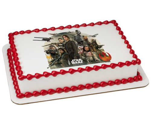 Disney - Star Wars™: Rogue One Rebel Alliance PhotoCake® Image