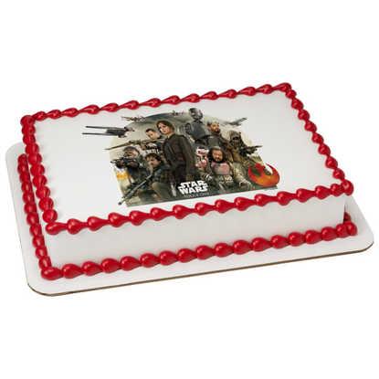 Disney - Star Wars™: Rogue One Rebel Alliance PhotoCake® Image