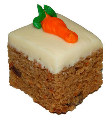 Cake Squares - Carrot Cake