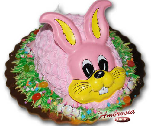 Easter Bunny - Egg Cake