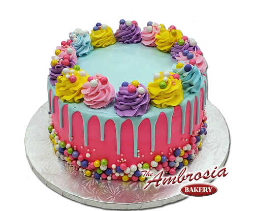 Colorful Candies Cake