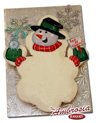 Let it Snow! Man (Dozen Cupcakes)