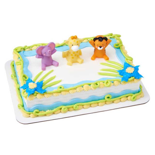 Safari Bath Toys DecoSet® - Blue