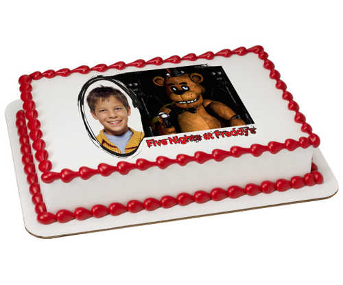 Five Nights At Freddy's-Play PhotoCake® Frame