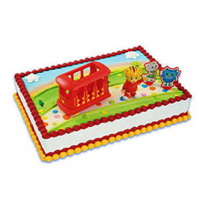 Daniel Tiger Sheet Cake