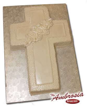 Cornelli Lace - Cross Cut-Out