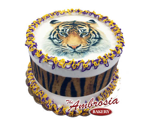 New TIGER Cake! Edible Image®