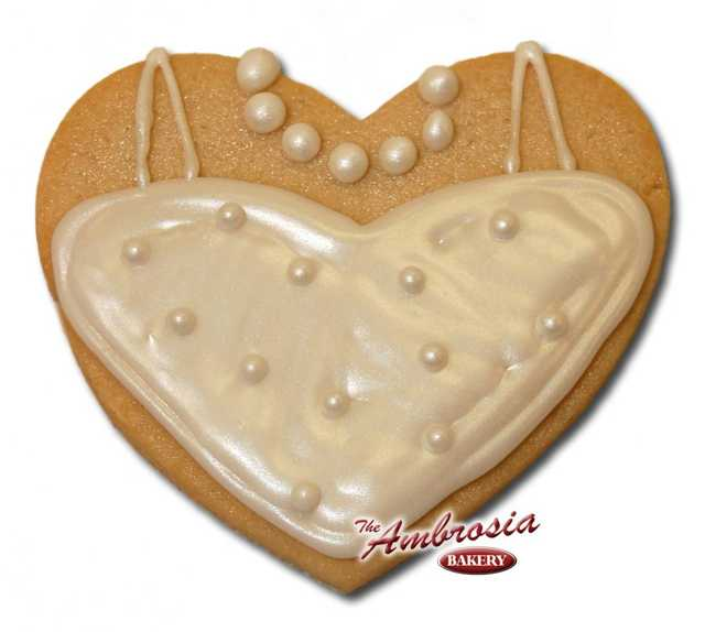 Wedding Dress #1 Cut-Out Cookie