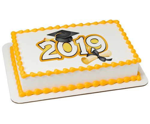 Traditional Grad 2019 PhotoCake® Image