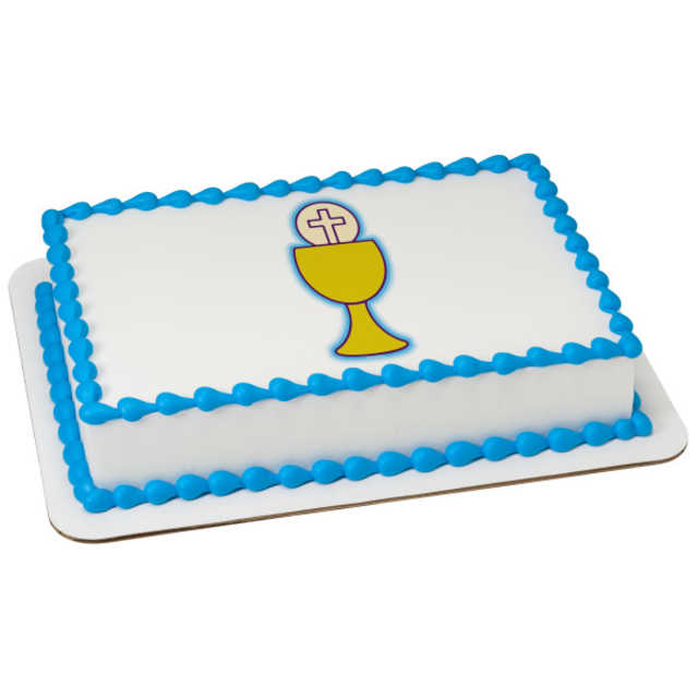 First Communion Chalice PhotoCake®
