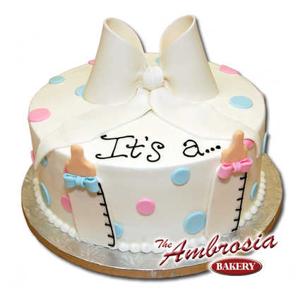 It's a... Baby Reveal Shower Cake