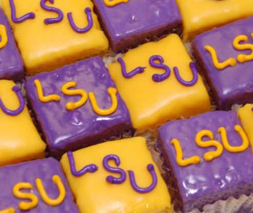 Petit Four - Purple and Gold - Dozen