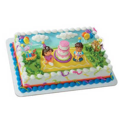 Dora the Explorer Birthday Celebration