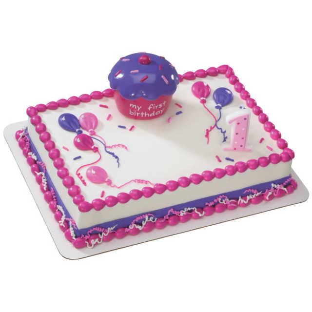 Cupcake Keepsake Pink DecoSet®