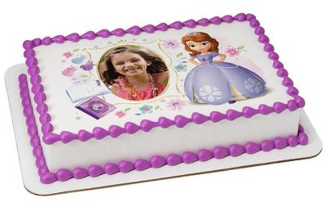 Disney Sofia the First - Princess in Training PhotoCake® Frame