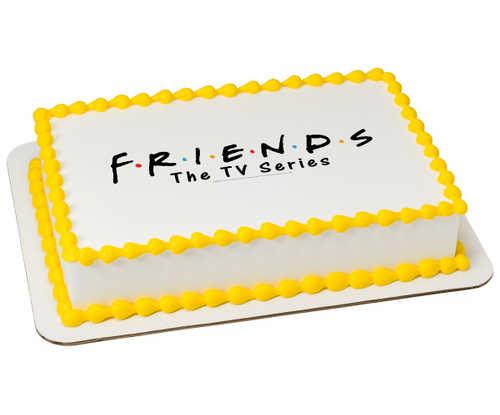 Friends Logo PhotoCake® Edible Image®