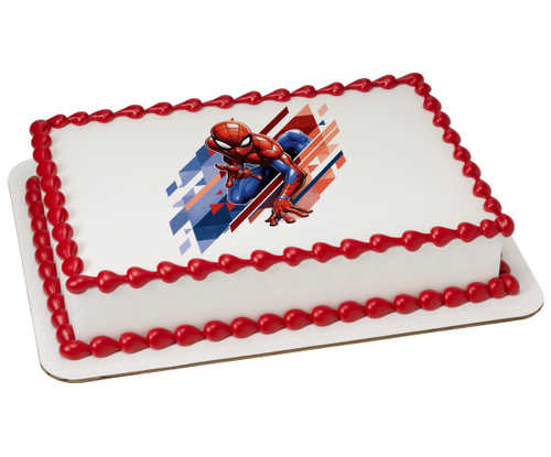 Marvel's Spider-Man™ Great Responsibility PhotoCake® Edible Image®