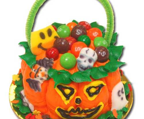 Cupcake Pumpkin Basket