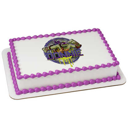 Teenage Mutant Ninja Turtles Donatello PhotoCake® Image