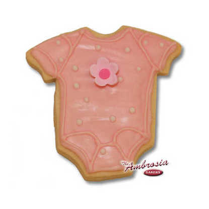 Baby Onesie Cut-Out-Cookie