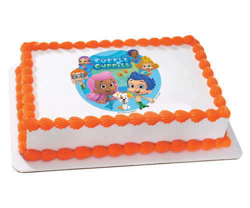 Bubble Guppies - Gil and Molly PhotoCake®